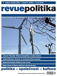 Revue Politika 4/2007