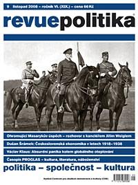 Revue Politika 9/2008