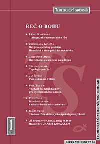 Teologický sborník 1/2001
