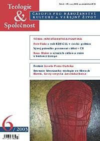 Teologie&Společnost 6/2003