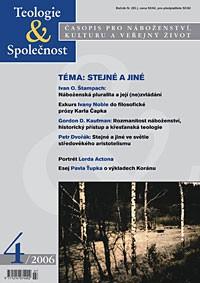 Teologie&Společnost 4/2006